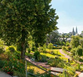 jardin remarquable, jardin pédagogique, jardin botanique