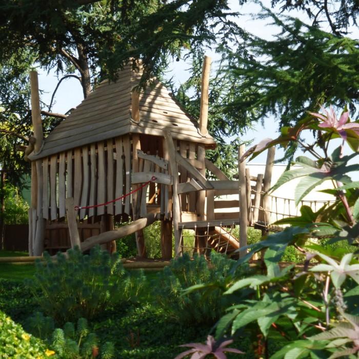cabane enfants galerie Jardin Camifolia
