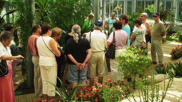 visite guidée groupes Jardin Camifolia